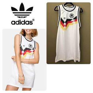 ADIDAS ORIGINALS TANK DRESS GERMANY FOTBALL